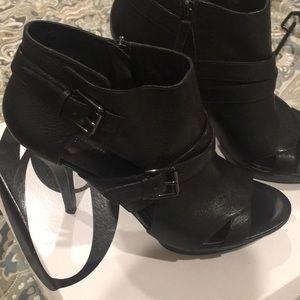 Never worn black booties